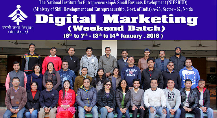 Valadiction of Digital Marketing Programme on 14 Jan, 2018