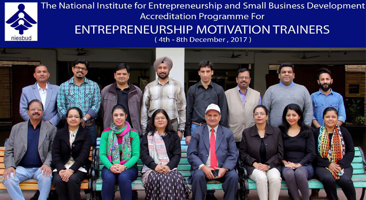 Final Phase of Entrepreneurship Motivation Trainer Programme