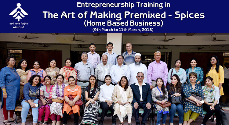Entrepreneurship Training in The Art of Making Premixed-Spices (Home Based Business)