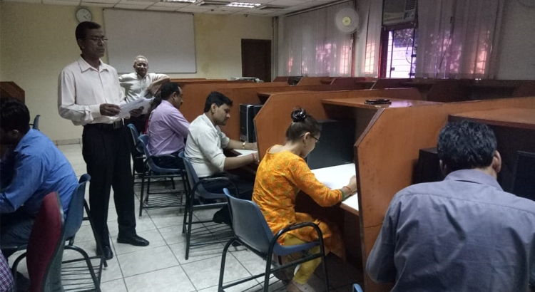 Hindi Essay Writing Comptetion at NIESBUD.